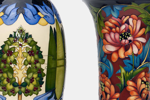 Moorcroft A Silver Salute 25th Anniversary
