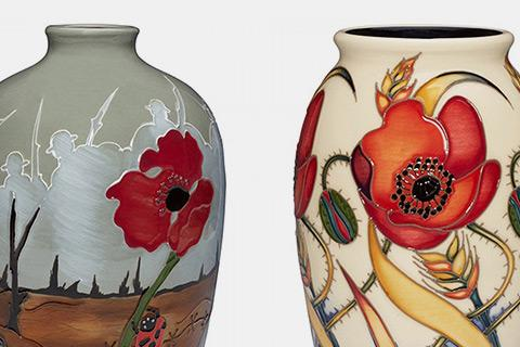 Moorcroft Armistice Collection