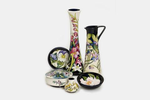 Moorcroft The Flying Phoenix Collection