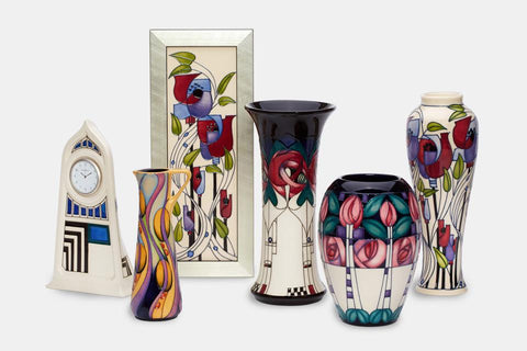 Moorcroft Mackintosh 150 Anniversary Collection