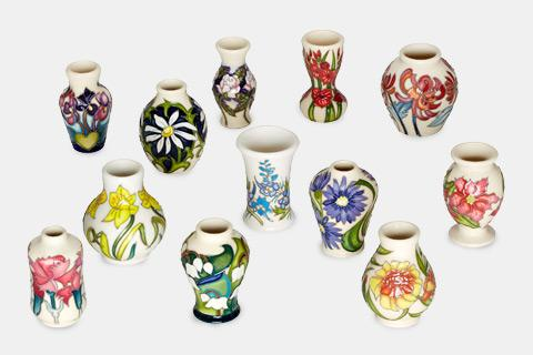 Moorcroft Floral Months of the Year