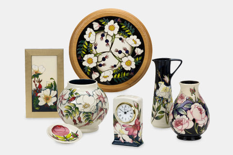 Moorcroft RHS Rose Collection