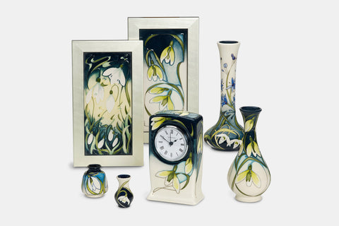 Moorcroft Snowdrop Sensation Collection