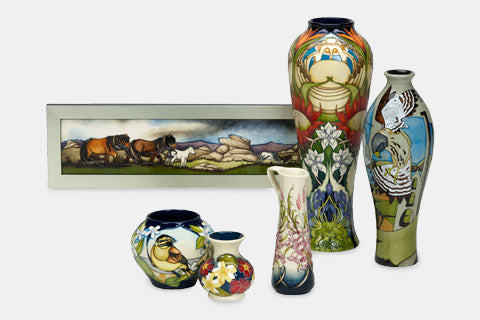 Moorcroft The West Country Collection