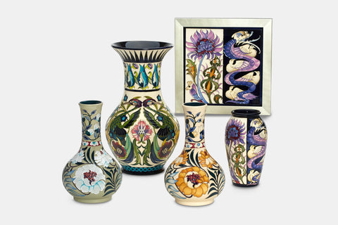 Moorcroft William De Morgan Collection