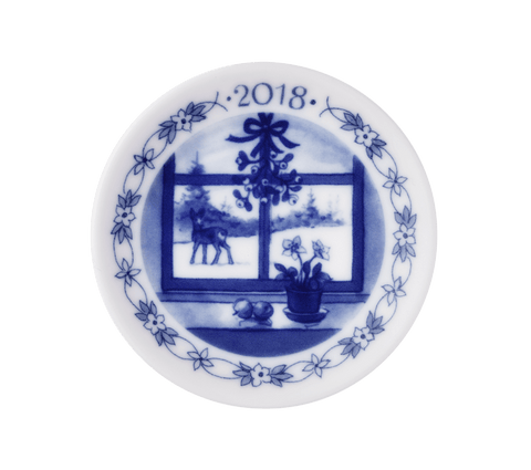 royal-copenhagen-Christmas Plaquette 2018