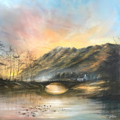 DANNY ABRAHAMS - Grange in Borrowdale Original (2020)
