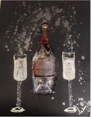 Clare Wright - Moet & Chandon 3D Bottle (2017)