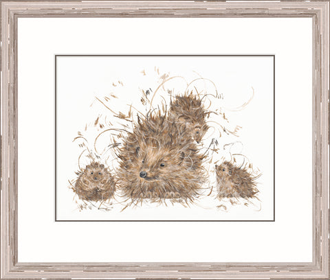 Buy Aaminah Snowdon Hedgie & The Hoglets (2017) - Framed