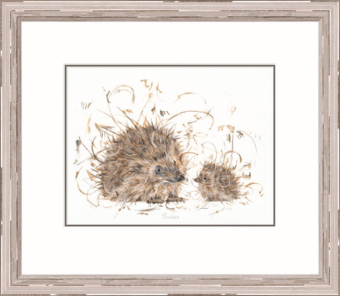 Buy Aaminah Snowdon Prickles 20118 - Framed