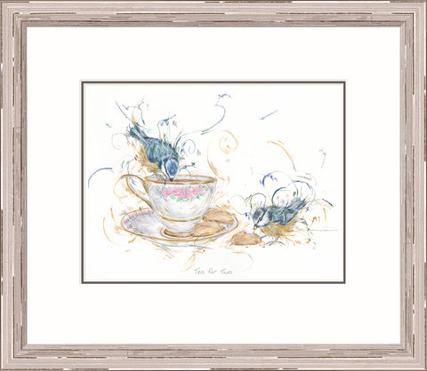 Buy Aaminah Snowdon Tea For Two 20118 - Framed