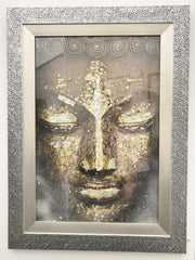 CLARE WRIGHT - Buddha with Gold & Silver Leaf