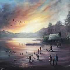 DANNY ABRAHAMS - Feeding Time On Derwent Water