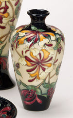 Moorcroft - Honeysuckle Haven Vase 72/6 (2015)