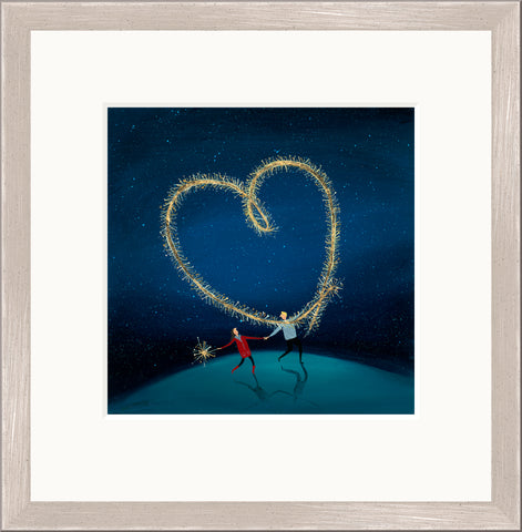 Buy Jenni Murphy Sparkly Love (2017) - Framed