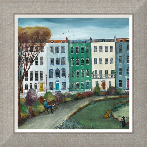 Buy Joe Ramm Townhouses (2018) - Framed