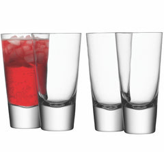 LSA - Long Mixer Glass Set of 4