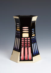 MOORCROFT - Library Lights Vase 63/7 (2019)
