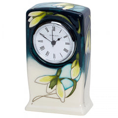 MOORCROFT - Green Tear CL1 Clock (2019)