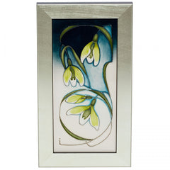 Moorcroft - Green Tear PLQ5 Plaque (2019)