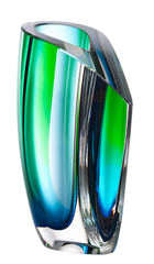 Kosta Boda - Mirage Vase Green/Blue 210mm