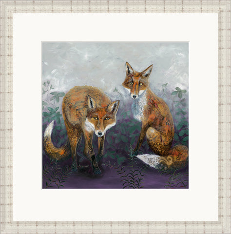 Foxtails & Brambles by Nicola Hart