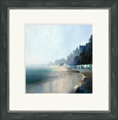 Buy Paul Dolman Avon Beach (2018) - Framed