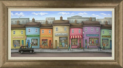 PAUL HORTON - Hustle & Bustle - Canvas (2014)