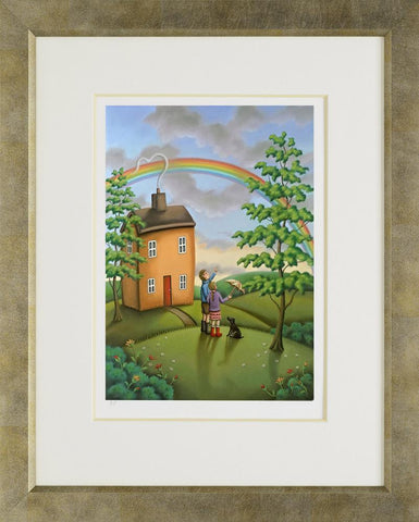 Paul Horton The Painted Sky Framed Paper