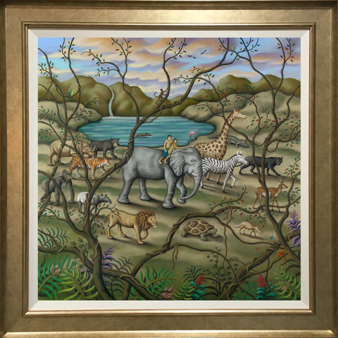 Paul Horton Mother Earth - Canvas (2018) Framed