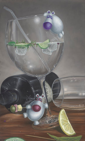Peter Smith Let The Party Be Gin (2018)
