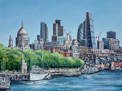 PHILLIP BISSELL - London Skyline Original