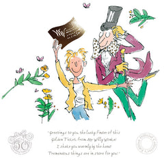 QUENTIN BLAKE - Charlie & the Chocolate Factory - 50th Anniversary Edition