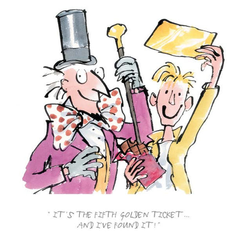 Charlie & The Chocolate Factory - It's The Fifth Golden Ticket