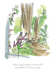 QUENTIN BLAKE - Charlie & the Chocolate Factory - There's Enough Chocolate In There