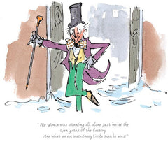 QUENTIN BLAKE - Charlie & the Chocolate Factory - An Extraordinary Little Man He Was