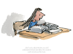 Quentin Blake - Matilda - Sit Back And Allow The Words To Wash Around You (2018)