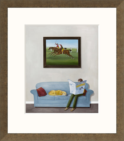 Rebecca Campbell A Day At The Races (2016) - Framed