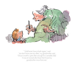 QUENTIN BLAKE - The Witches - I Shall Never Have A Bath Again (2017)