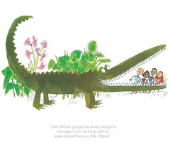 QUENTIN BLAKE - The Enormous Crocodile - One Child Isn't Enough (2017)