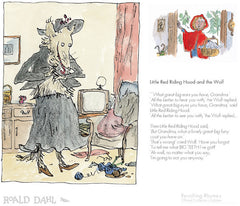 Quentin Blake - Revolting Rhymes - Little Red Riding Hood And The Wolf (2017)
