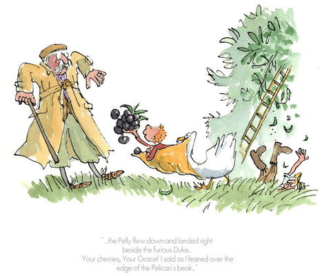 "Quentin Blake ""Your Cherries, Your Grace"""