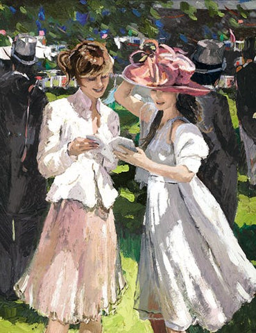 Royal Ascot Ladies Day II by Sherree Valentine Daines