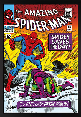Stan Lee The Amazing Spider-Man #40 - Spidey Saves The Day - Box Canvas Edition (2016)