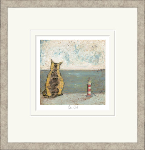 Buy Sam Toft Sea Cat (2018) - Framed
