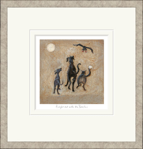 Buy Sam Toft A Night Out With The Beasties (2018)- Framed