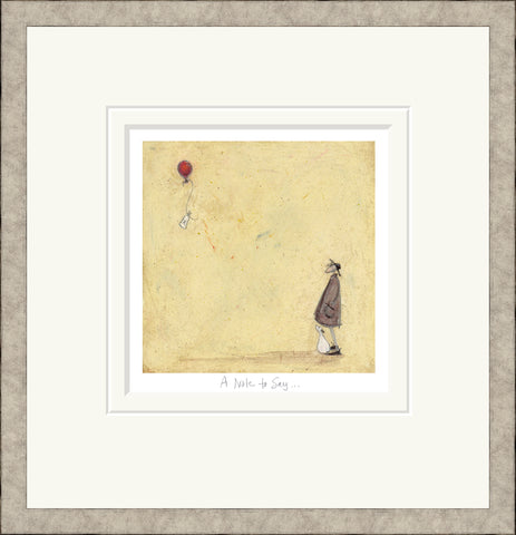 A Note to Say (2019) by Sam Toft