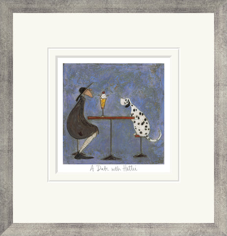 Sam Toft A Date With Hattie (2016) Framed