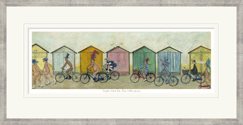 Sam Toft Brighton Naked Bike Ride (2016) - Framed