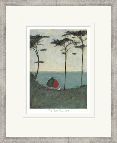 Sam Toft The View From Love (2016) - Framed
